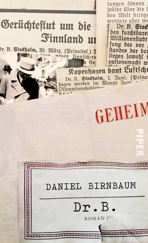 "Cover von Daniel Birnbaums Roman ""Dr. B."""
