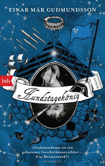 """Cover von Einar Már Gudmundssons Roman """"Hundstagekönig"""""""